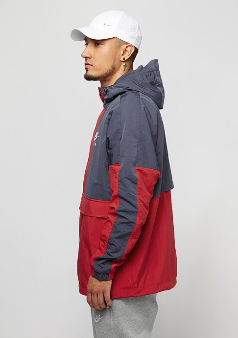 NIKE Hooded Air thunder blue/university red/wolf grey