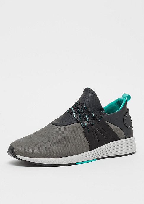 Project Delray  WAVEY dark grey/mint