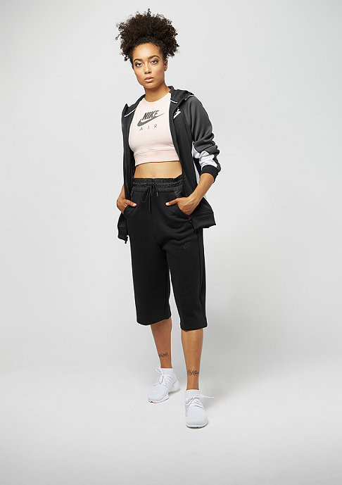 NIKE Crop Air orange quartz/black heather