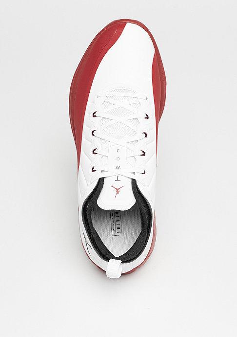 JORDAN Trainer Prime white/black/gym red