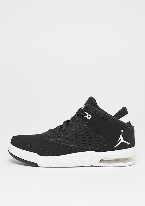 JORDAN Flight Origin 4 black/white/gym red