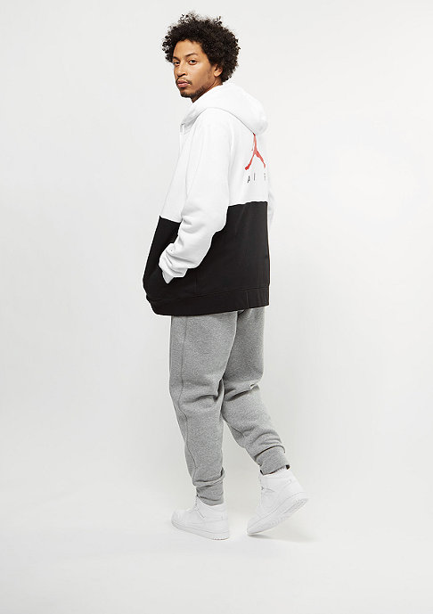 JORDAN Jumpman Air GFX Fleece white/black/university red