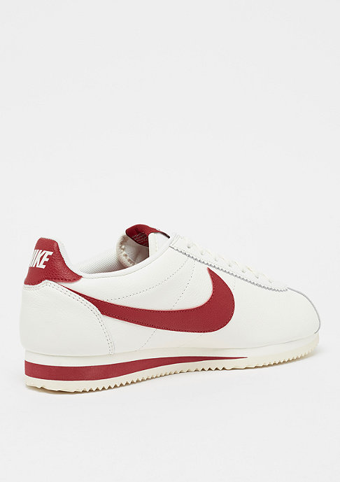 NIKE Classic Cortez Leather SE sail/gym red