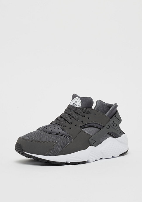 NIKE Huarache Run (GS) dark grey/dark grey/white