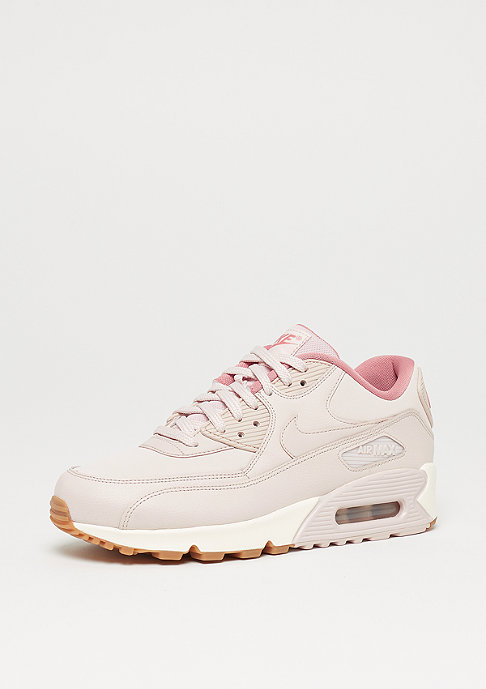 NIKE Wmns Air Max 90 Leather silt red/silt red/red stardust/sail