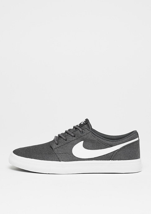 NIKE SB Solarsoft Portmore II Canvas anthracite/white/black