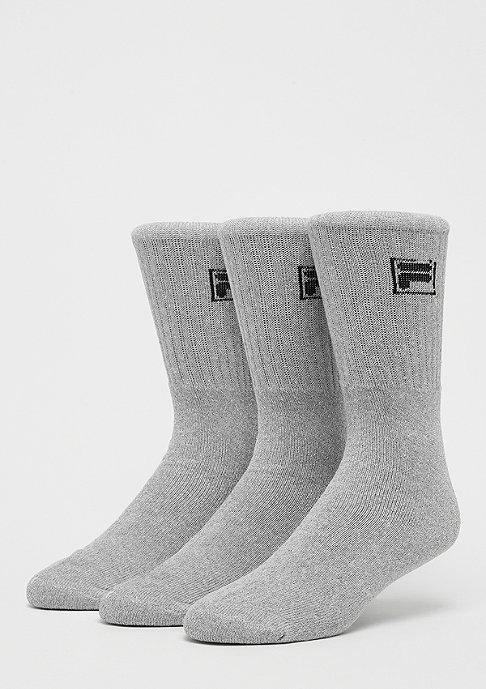Fila Unisex Sport Socks 3-Pack F9000 grey