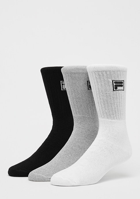 Fila Unisex Sport Socks 3-Pack F9000 classic