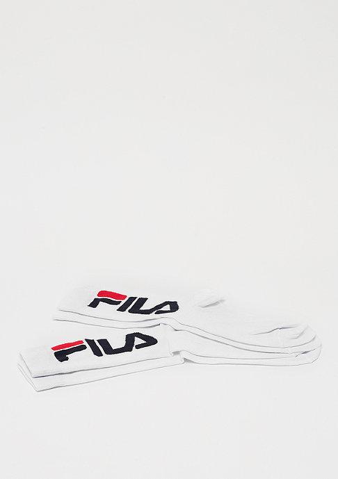 Fila Unisex Normal Socks 2-Pair white