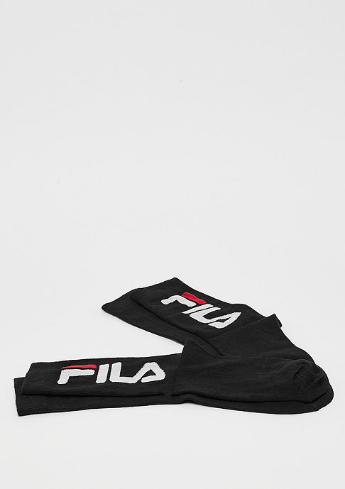 Fila Unisex Normal Socks 2-Pair black