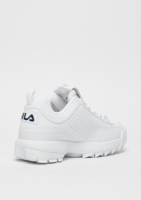 Fila Heritage Disruptor Low WMN white