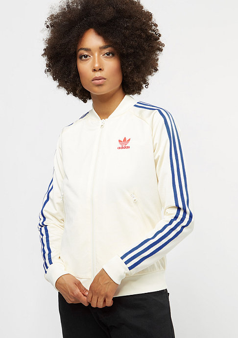 adidas EA SST Track Top Graphic cream white