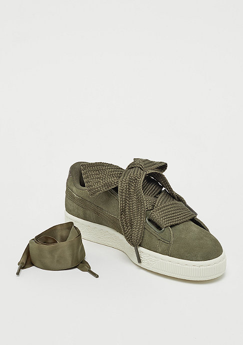 Puma Suede Heart VR Wn's olive night-rose gold-w