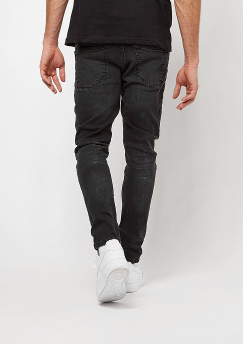 Urban Classics Skinny Ripped Stretch black washed