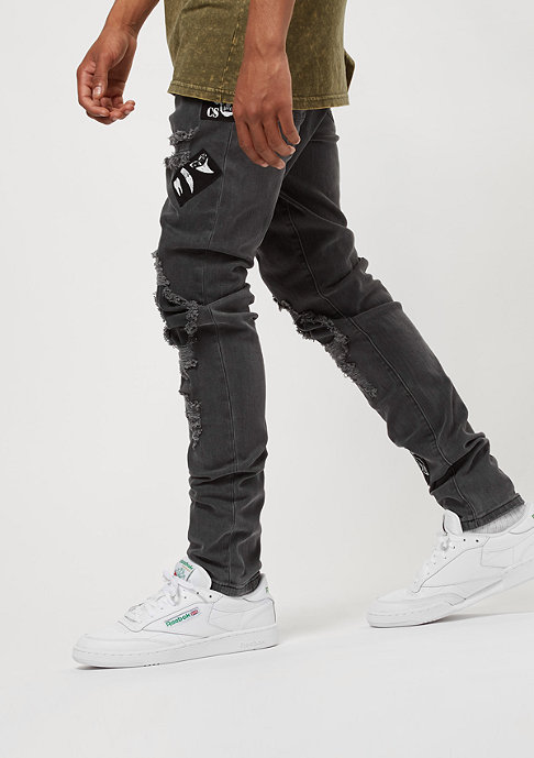 Cayler & Sons ALLDD Denim Pants Patched faded black
