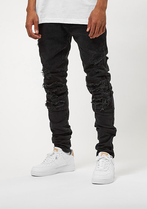 Cayler & Sons ALLDD Denim Pants Paneled Inverted Biker black