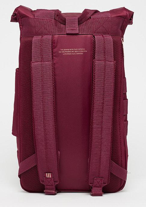 adidas Roll Top collegiate burgundy