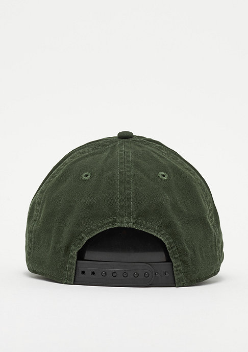 Criminal Damage  Cap Dalston olive/black