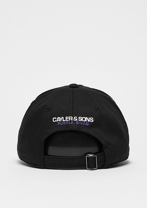 Cayler & Sons WL Curved Cap Purple Swag black