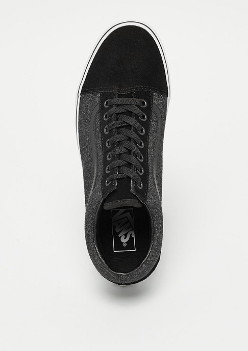 VANS UA Old Skool Suede & Suiting black