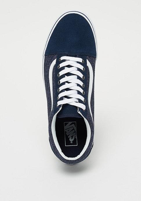 VANS UA Old Skool Suede & Suiting dress blue