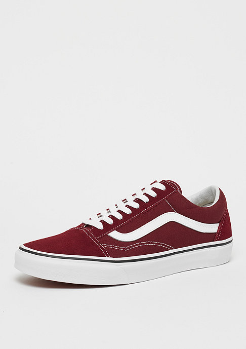 VANS UA Old Skool madder brown/true white