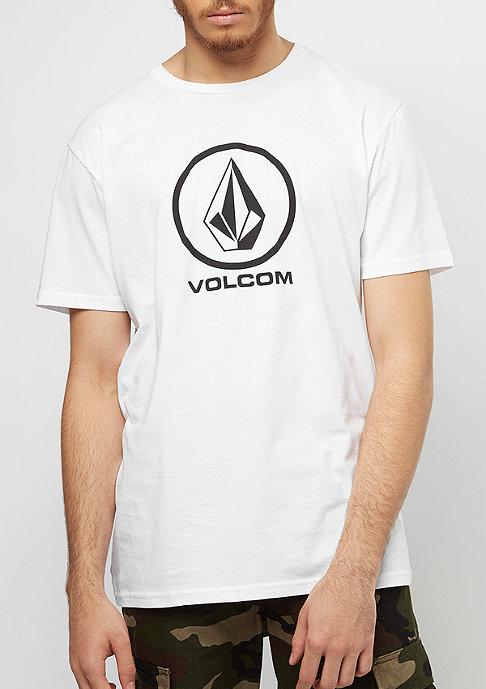 Volcom CIRCLE STONE BSC SS white