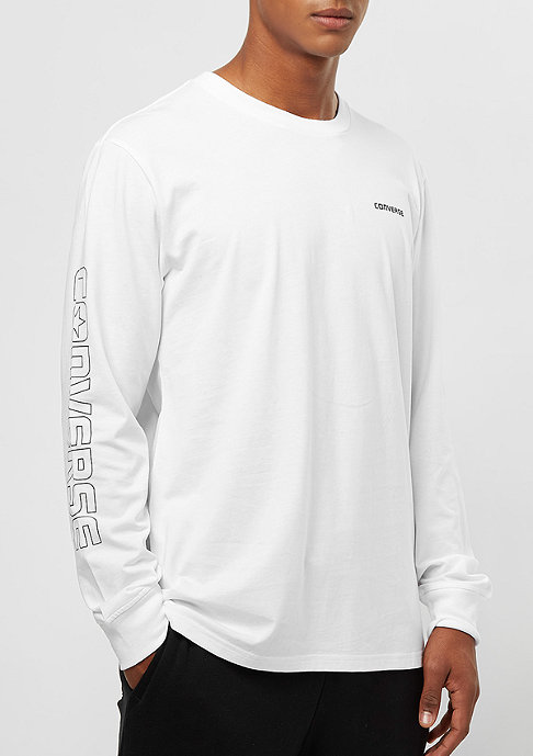 Converse LS Graphic Wordmark Tee white