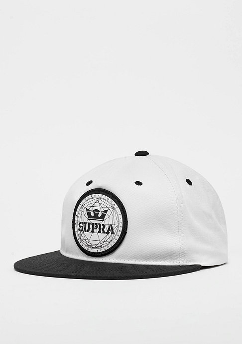 Supra Geo Patch Slider black/white