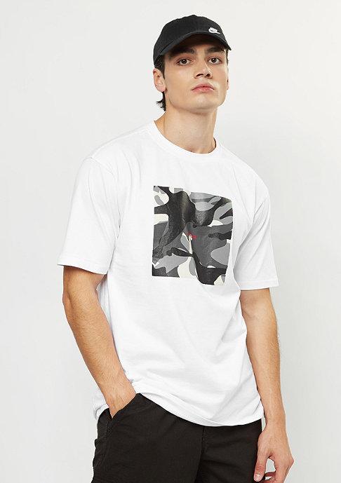 Herren Box Camo T-Shirt S S white weiß | 05713630028775