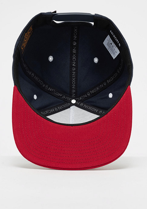 Nixon Simon navy/red