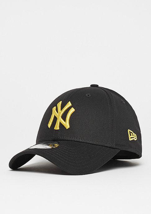 New Era 39Thirty New York Yankees black/open market yellow