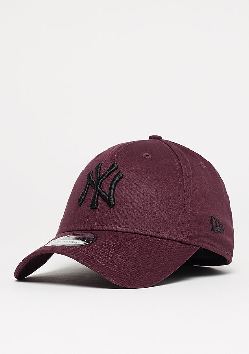 New Era 39Thirty MLB New York Yankees black/maroon