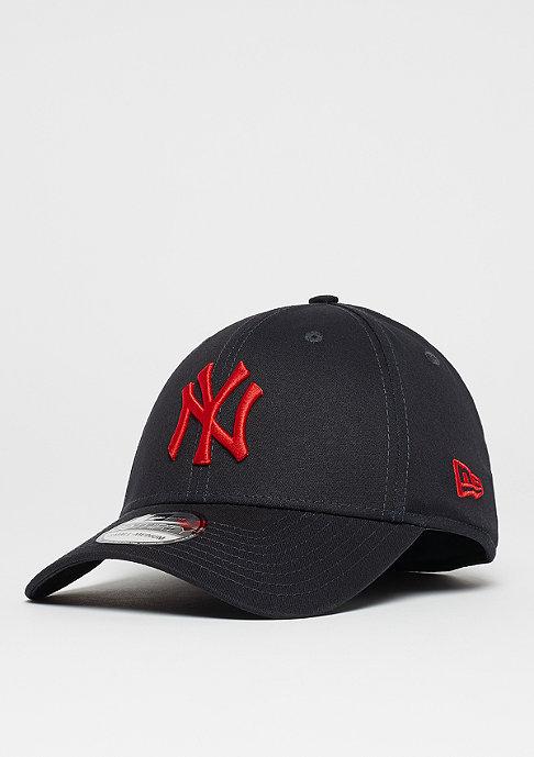 New Era 39Thirty MLB New York Yankees navy/hot red