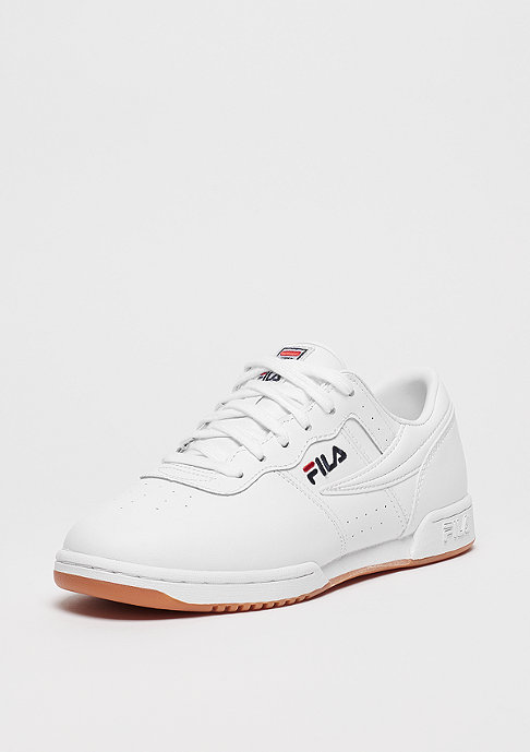 Fila Wmns Heritage Original Fitness white/FILA navy/FILA red