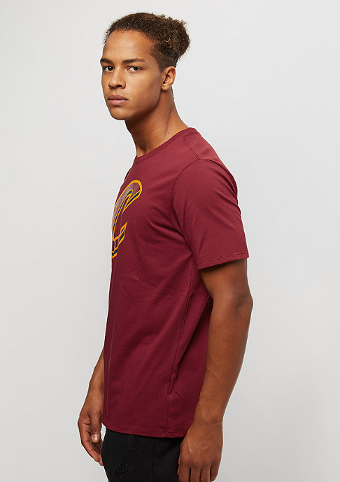 NIKE Basketball ES Logo NBA CLeveland Cavaliers team red
