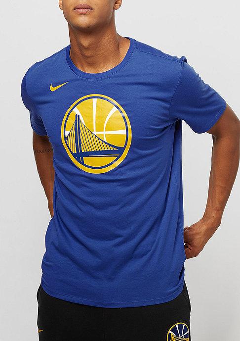 NIKE ES Logo NBA Golden State Warriors rush blue