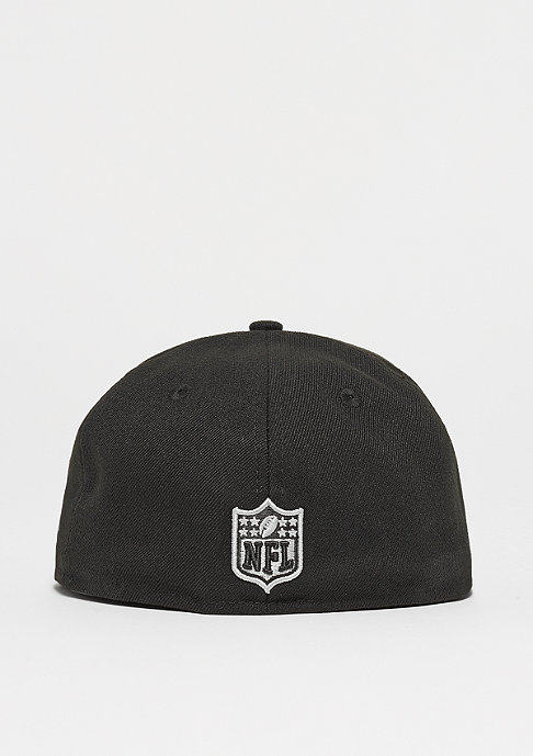 New Era 59Fifty NFL Oakland Raiders woodland camo/ snow gray