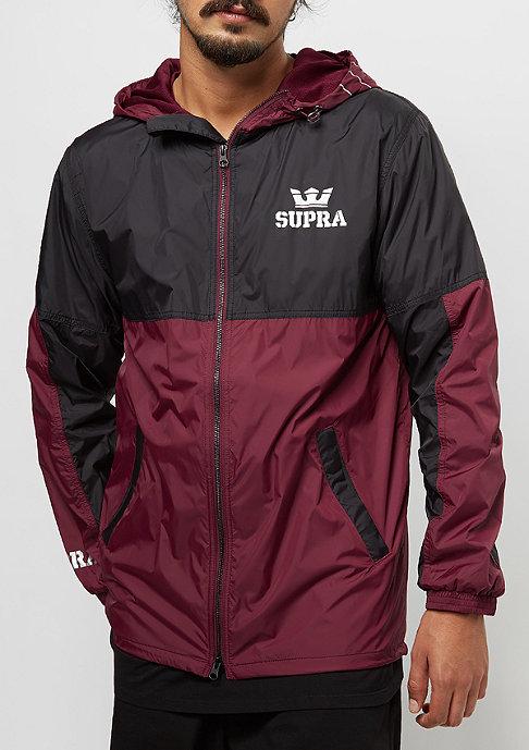 Supra Dash burgundy/black