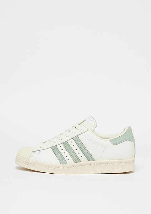 adidas Superstar 80s off white/tactile green/off white