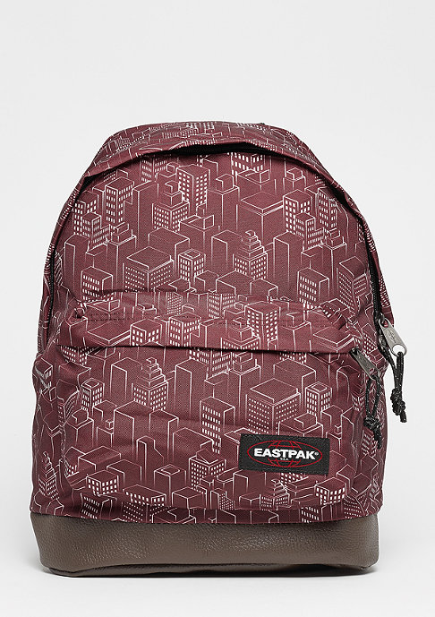 Eastpak Wyoming merlot blocks