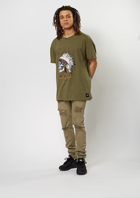 Sixth June New Perfect Rock Tee khaki
