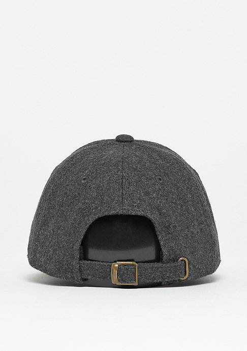 Flexfit Low Profile Melton Wool Dad dark grey