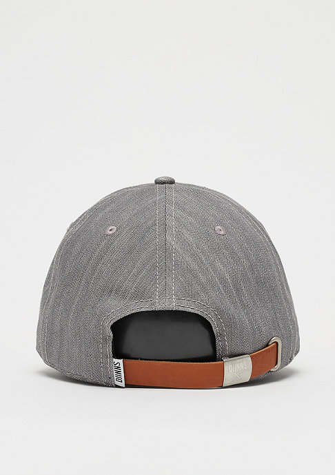 Djinn's 6P Dad Cap Denim Luck grey