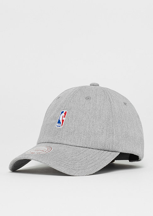 Mitchell & Ness NBA Logo Low Pro grey heather