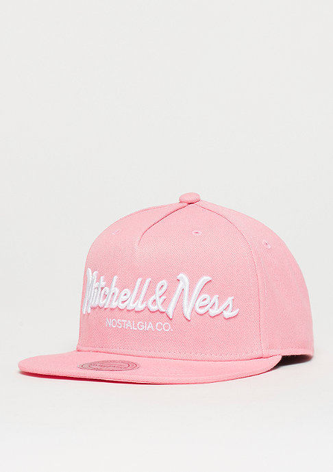 Mitchell & Ness Pinscript dusty pink