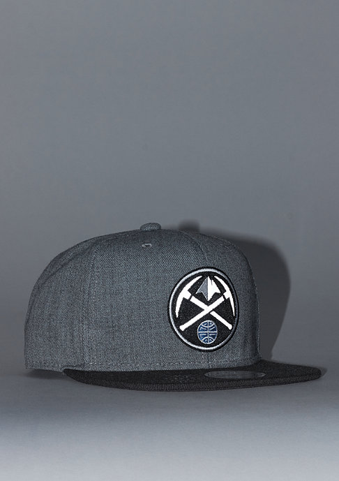 Mitchell & Ness Heather Reflective NBA Denver Nuggets grey/charcoal