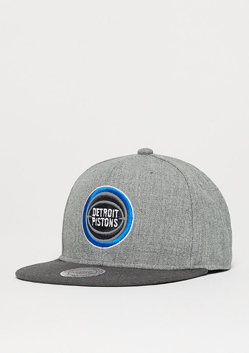 Mitchell & Ness Heather Reflective NBA Detroit Pistons grey/charcoal