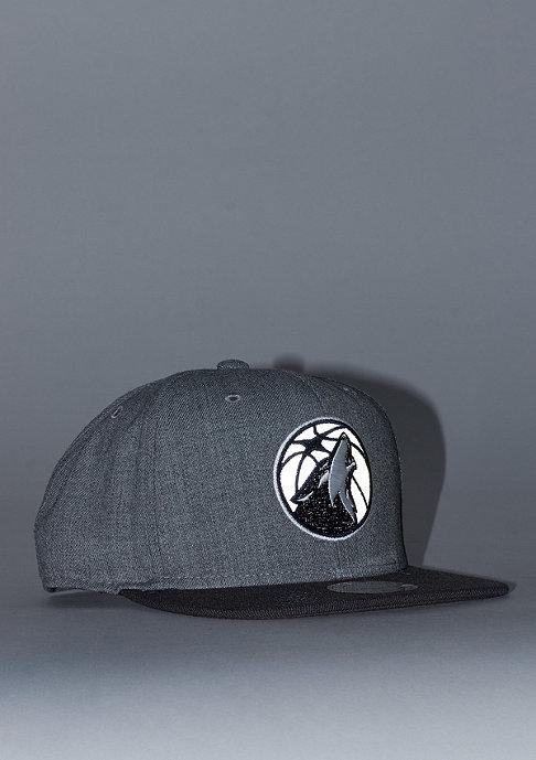 Mitchell & Ness Heather Reflective NBA Minnesota Timberwolves grey/charcoal