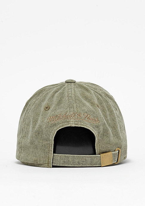 Mitchell & Ness Blast Wash Slouch olive